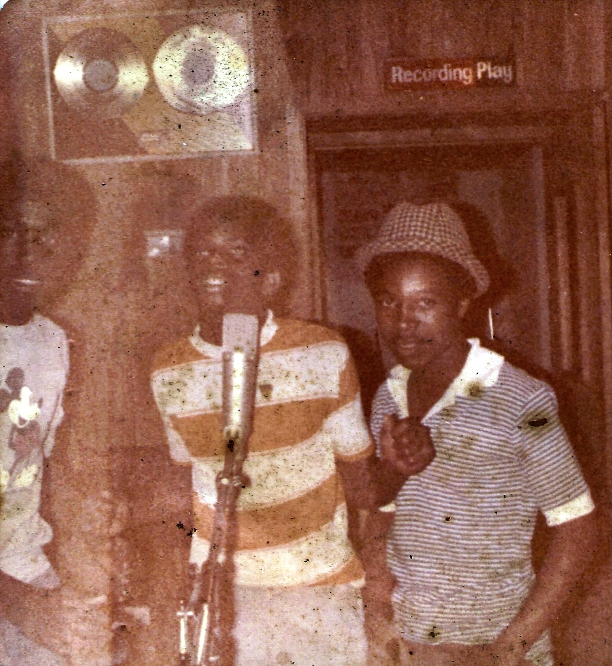 First Tuff Gong recording session
